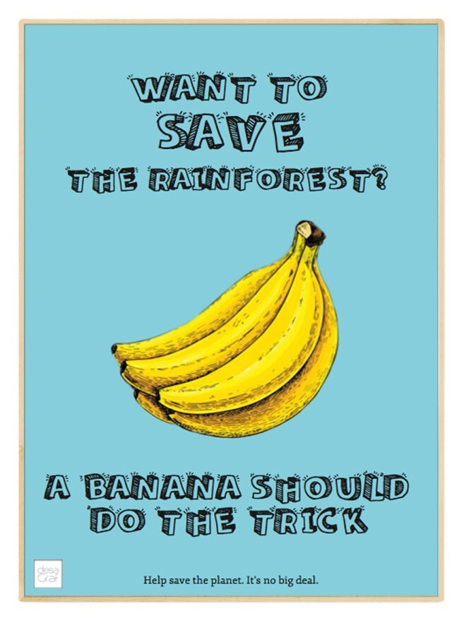 banan banana save the rainforest