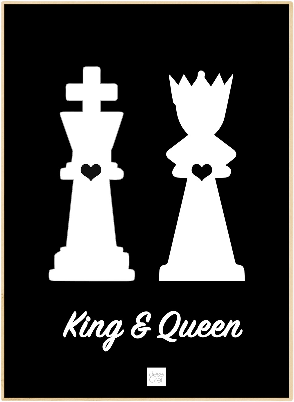 Image of   King & Queen