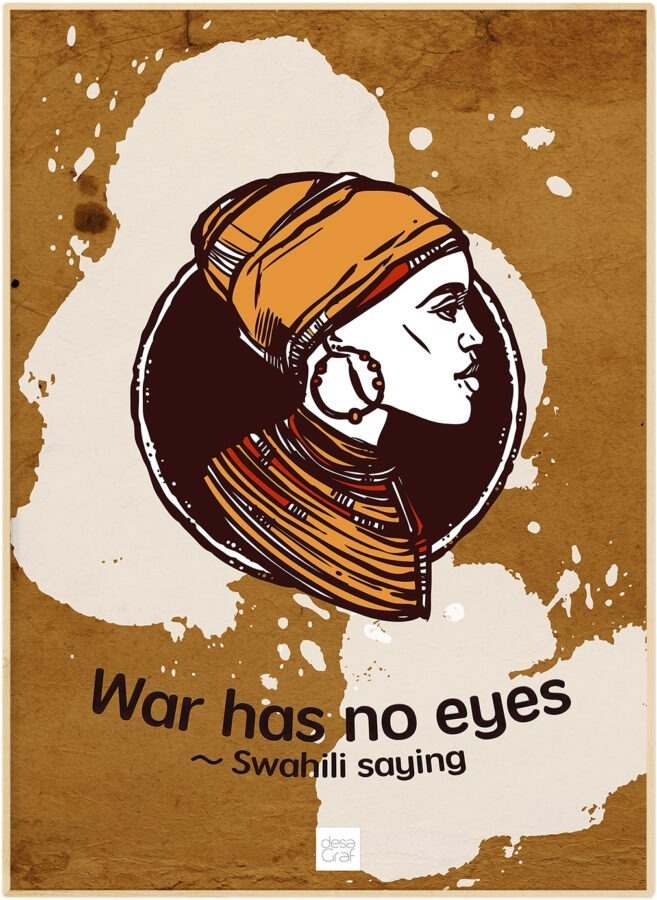 War Has No Eyes Poster