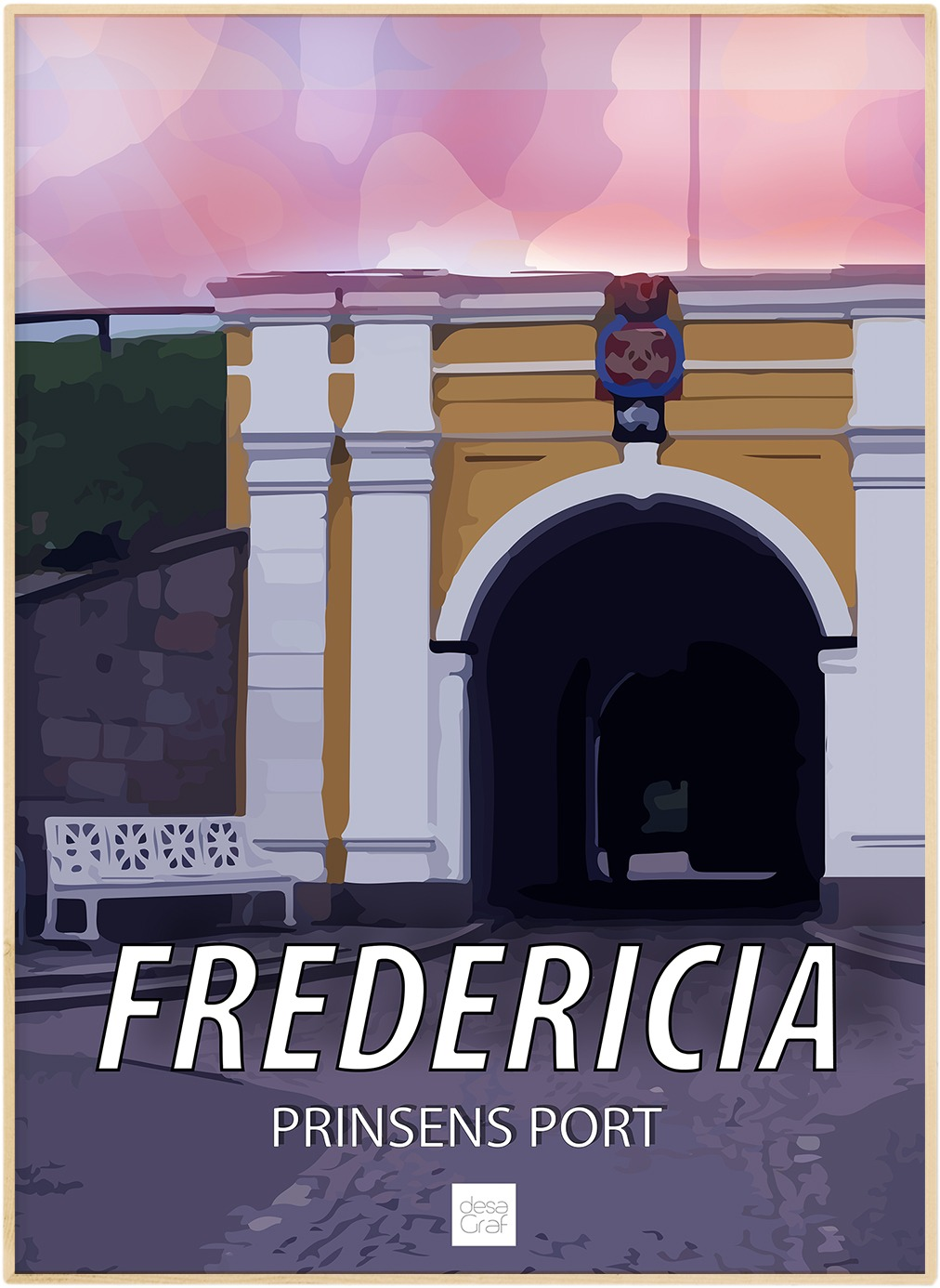 Image of   Fredericia Plakat