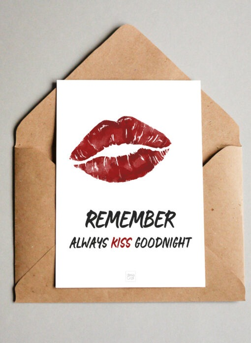 Remember To Kiss Goodnight