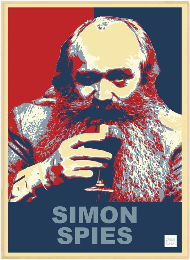 Simon Spies Plakat
